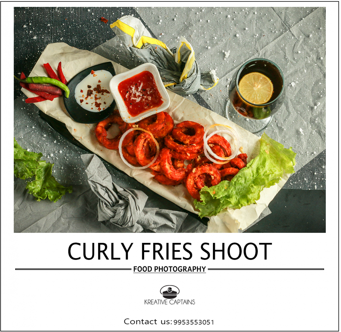 CURLY FRIES SHOOT